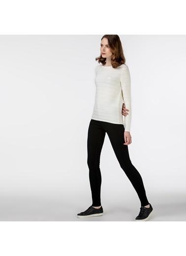 Lacoste Kadın Skinny Jean Pantolon HF0150.50S Siyah